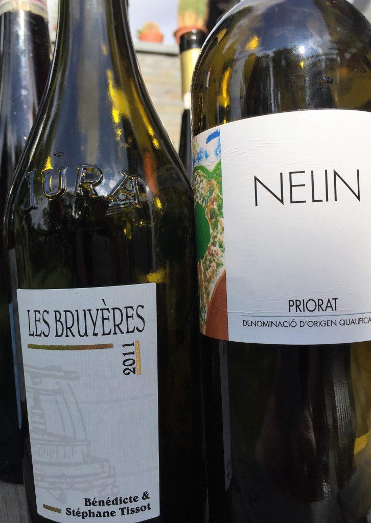 Clos Nelin und Chardonnay Les Bruyeres Tissot