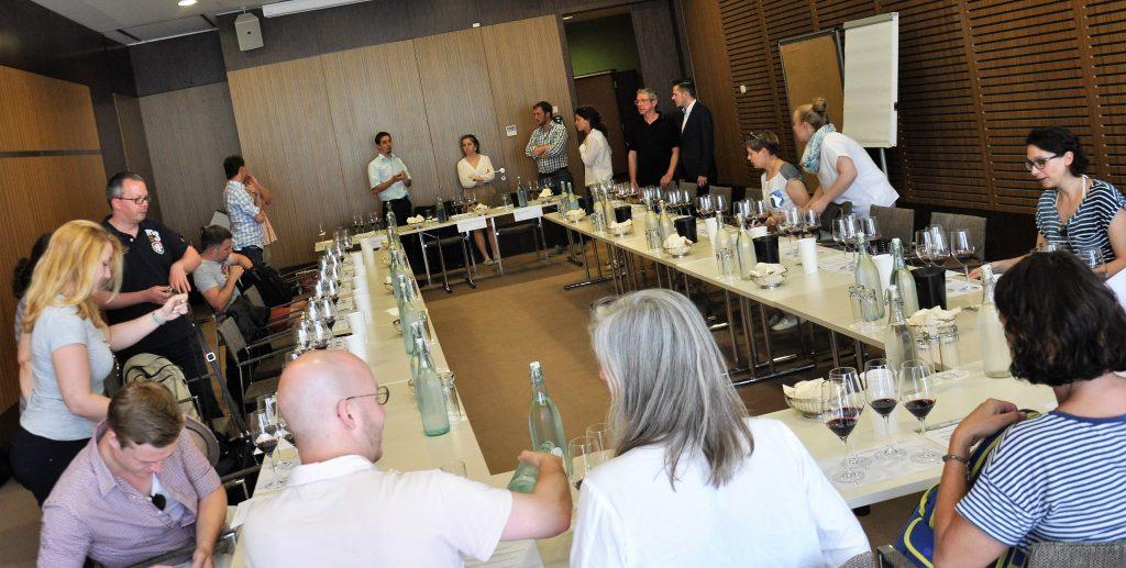 Tasting Die großen Rotweine des Burgenlandes_Sommelier-Tour-2016