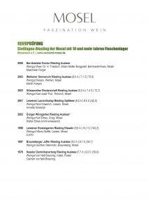 Weinliste Das Potential gereifter Rieslinge-S1